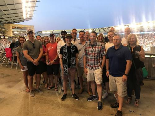 Intrepid team outing at Sporting KC